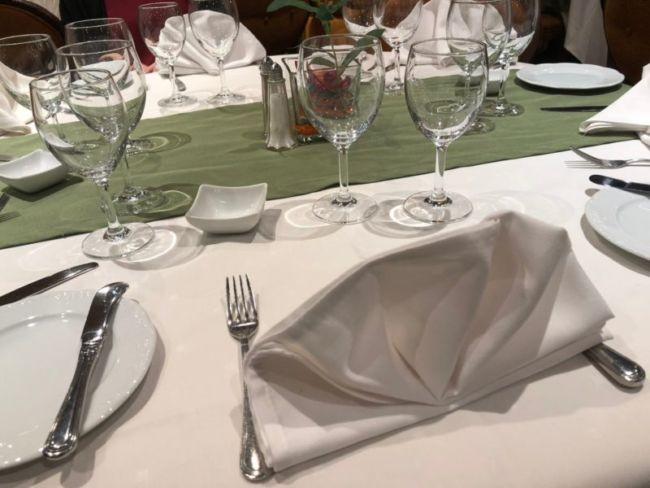 MSCスプレンディダのアラカルトレストラン